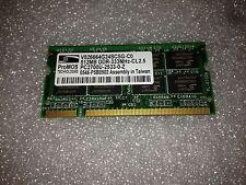Memoria sodimm DDR ProMOS Tech V826664G24SCSG-C0 512 MB PC2700 333 Mhz 200 pin