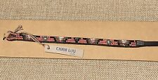 CHAN LUU EFI Wrap Bracelet, Seed Bead & Leather BRAND NEW Apricot Brandy