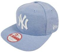 New Era New York Yankees Oxford Lights Blue Snapback Cap Original Fit S M 9fifty