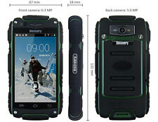 "Original Discovery Smartphone V8 Wasserdicht 4.0"" 5MP Rugged Android 4.2 Mobile"