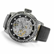 Invicta 52mm Excalibur Mechanical 18600  Leather Strap Watch ,New