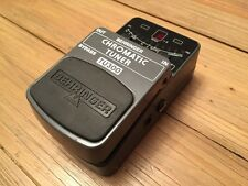BEHRINGER CHROMATIC TUNER TU300 GUITAR PEDAL STOMPBOX FX **GOOD CONDITION**