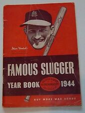 Famous Slugger yearbook 1944 Stan Musial