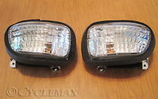 GOLDWING GL1800 Smoked Front Turn Signals (SCMG18TSL) NO BULBS INCLUDED