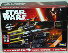 Revell Star Wars POE'S  X-WING FIGHTER Snap Tite w/action sounds 1635
