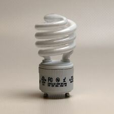 60 Watt Compact Fluorescent Light Bulbs GU24 CFL Lamps 13W/27K Spiral Twist