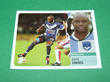 DAVID SOMMEIL GIRONDINS BORDEAUX LESCURE PANINI FOOT 2003 FOOTBALL 2002-2003