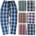 BOYS PYJAMA BOTTOMS LOUNGE PANTS CHECKED EX-STORE *RANDOM PICK* 13 14 15 16Y NEW