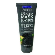 FREEMAN Facial Polishing Mask - Charcoal & Black Sugar - All Skin Types - 175ml