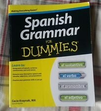 Spanish Grammar For Dummies - Cecie Kraynak, MA