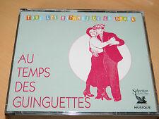 3 CD AU TEMPS DES GUINGUETTES tous les rythmes de la danse JAVA musette PASO