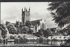 Worcestershire Postcard - Worcester Cathedral From River Severn    E337