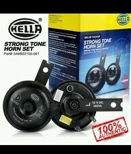 2x Hella Skoda Type Strong Tone Bike Motorcycle Horn Loud for Bajaj Pulsar 220