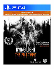 DYING LIGHT: THE FOLLOWING: ENHANCED EDITION - PS4 PlayStation 4 Game