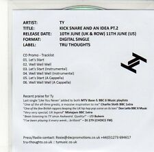 (ED596) TY, Kick Snare and an Idea (Pt. 2) - 2013 DJ CD