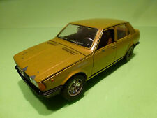 MEBETOYS 6722 ALFA ROMEO GIULIETTA - YELLOW 1:25 - GOOD CONDITION