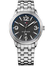 Tommy Hilfiger Men's Table Stainless Steel Bracelet Watch 42mm 1791260 NIB - NWT