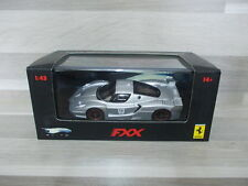 Hot Wheels Elite 1/43 - Ferrari  FXX  - silver