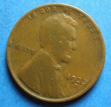 *1933-D*   Lincoln Wheat Cent   j8  g-vg  'Free Shipping'
