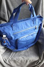 NWT Kipling YM5311 Maxwell Tote Crossbody Color 459 Sailor Blue Large