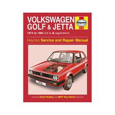 VW Golf Jetta MK1 1.1 1.3 Petrol 1974-84 (up to A Reg) Haynes Manual