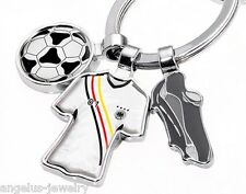 "TROIKA, ""FREE KICK"", Football Keychain, Germany Jersey, Shoe, ball"