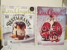 2 LOS ANGELES Magazines (11/14 and 1/15) Food Lover's Guide & Best New Eateries