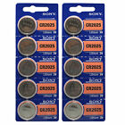 CR2025 SONY PET BLISTER PACK EXP 2025 Lithium Battery 3V  1/2/3/5/10/15/20/100