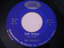 The Twilights The Wolf / I'll be Back 1966 45rpm CHICAGO GARAGE