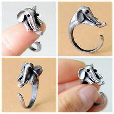 Super Cute Elephant Animal Ring Adjustable Finger Wrap Fashion Jewelry AR-12