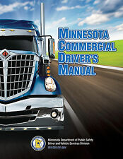 COMMERCIAL DRIVER'S MANUAL FOR CDL TRAINING (MINNESOTA) ON CD IN PDF PROGRAM