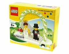 LEGO Minifigure Wedding Set #853340 Bride Groom - Retired Limited Edition - BNIB