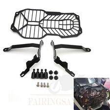 Headlamp Grill Guard Cover Protector for BMW R1200GS Adventure 13-16 14 15 Black