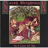 SARAH BRIGHTMAN - As I Came of Age - 1990 12 Track CD