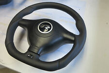 VW B5 Bora Golf IV 4 R32 style Passat GT R ergonomic steering wheel Flat Bottom