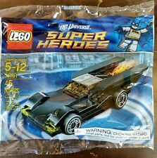 NEW Lego 30161 Mini Batmobile SEALED 45 Piece Polybag Super Heroes Set