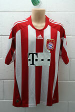 VINTAGE ADIDAS BAYERN MUNICH MUNCHEN FOOTBALL SHIRT TRIKOT ROBBEN 2010/2011 L