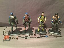 GI Joe 30th Anniversary BBTS Marauders Set 100% Complete BBQ/Spirit/Falcon/Light