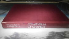 VERY RARE! COMPENDIUM OF SEASHELLS/R.TUCKER&S.P.DANCE  VERY RARE FIRST EDITION!