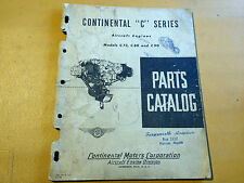 Continental C-75, C-85 and  C-90 Parts Catalog