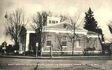 """United States Post Office, Glastonbury CT, """"A Friendly Town To Live In"""""""