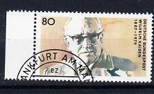 BRD Briefmarken 1987Wilhelm Kaisen Mi.Nr.1325 Rand