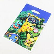 10 Bolsas pokemon para regalos cumpleaños fiesta
