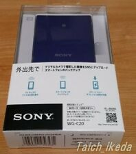 SONY Official Portable Wireless Server WG-C20 B Black for Smartphone Japan