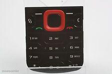 original Nokia 5320 xpress music Nummern Tastatur schwarz rot Tastenmatte Key...