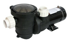 Energy Efficient 2 Speed Pump for Above-Ground Pool 1 HP-115V with Fittings