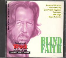 "BLIND FAITH - CD MADE IN ITALY 1992 "" LIVE IN SANTA BARBARA 1969 """