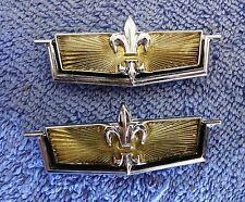 Rare NOS NEW Original OEM 77-79 Chevy CAPRICE  Tail Light Ornament Emblems