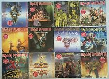 """IRON MAIDEN 12 7"""" SINGLES COLLECTION The Trooper Run To The Hills SEALED LOT"""