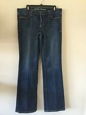 Guess premium ladies size 31 stretch fabric boot cut jeans
